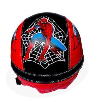 Motif Batman Merah Source · Helm Anak Unyu unyu Model Retro Karakter Spiderman .