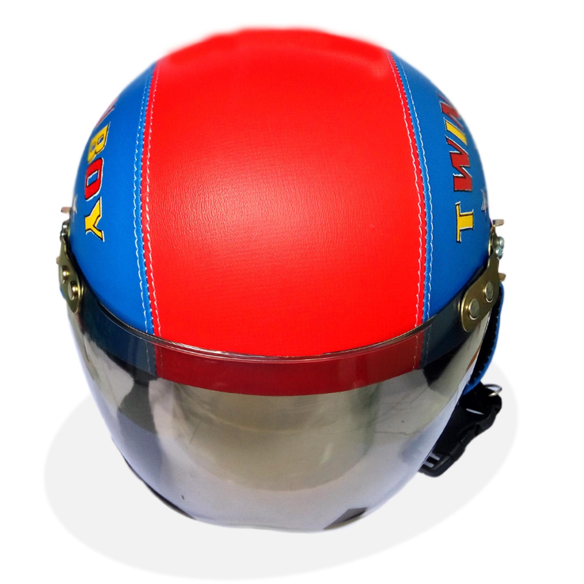 Helm Anak Unyu-unyu Model Retro Karakter Upin Ipin [1 -