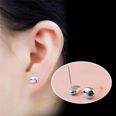 HerMia Hot Sale Anti-allergy Baymax S925 Silver Women FashionSimple Lovely Little Colorfast Girls Stud