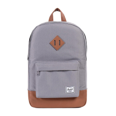 Herschel Heritage Mid-Volume Classic Backpack - Abu-abu-Tan Synthetic Leather