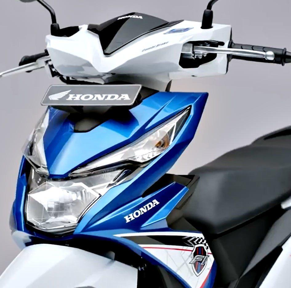 Honda All New Beat Esp Fi Sporty Cbs Iss Electro Blue White Vario 110 Grande Depok Khusus Daerah Yogyakarta