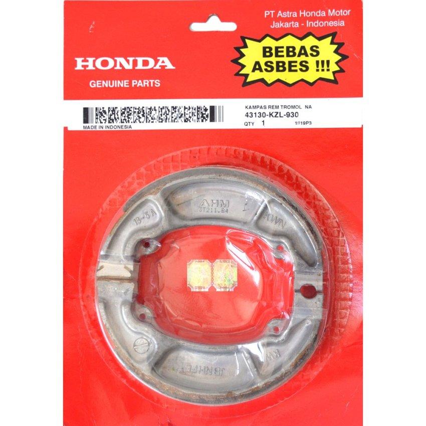 Honda Genuine Parts Suku Cadang Motor Kampas Rem Original AHM43120362001