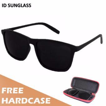BELI SEKARANG ID Sunglass - Kacamata Wayfarer D-Frame Pria Wanita - Frame  Hitam - Lensa Hitam SUN 1004-01 Klik di sini !!! 022e24c177