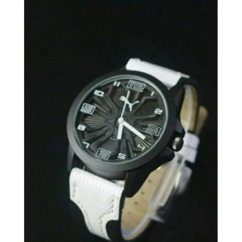 Harga Jam Tangan Puma Leather White