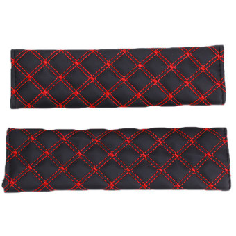 Lalang Seat Belt Cover Red (1pair), 52.000, Update. Child Kids Safety