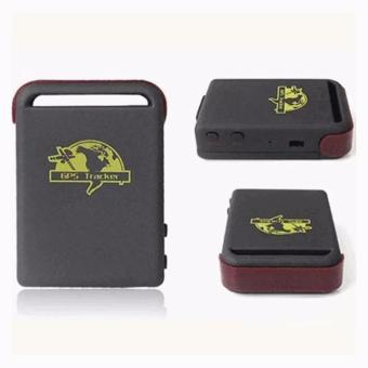 Harga GPS Global Smallest Tracking Device GSM/GPRS GPS Tracker - TK102 - Black