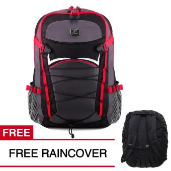 Harga Gear Bag Apocalypse Tas Laptop Backpack - Silver AP55 + FREE Raincover