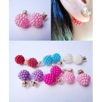 Harga Anneui - EE0053 - Anting Double Pearl Candy Stud