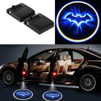 Harga 2Pcs Car Door Projector Welcome Lights for (GHOST SHADOW)- No Drilling Required