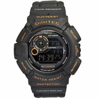 Digitec Men s DG2028BG - Jam Tangan Pria Sport Watch - Strap Resin - Black . dff5594d8b
