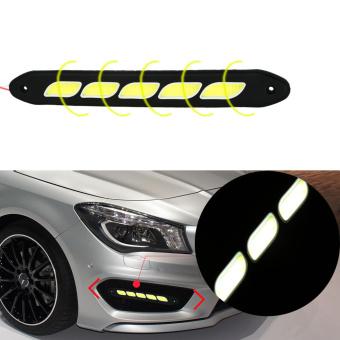 UJS Flexible 20W 5 COB 16 leds Daytime Running Light LED Fog light DRL 12V Waterproof