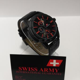 Swiss Army Jam Tangan Pria - Strap Kulit - SA-225501