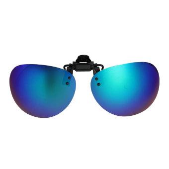 ... Audew kacamata terpolarisasi klip pada lensa memancing malam mengemudi UV400 hijau quicksilver