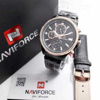 Naviforce - NF78600Z - Jam Tangan Pria - Crono Aktif - Rantai Stainless  Steel - Original 894be62164