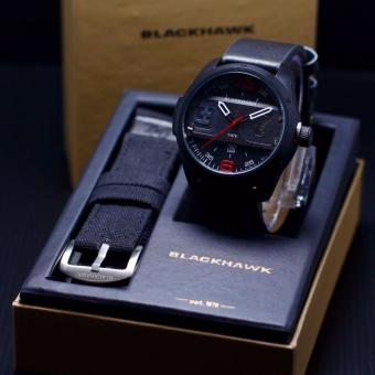 Harga Black Hawk Special Tactical Jam Tangan Pria Original Leather Strap