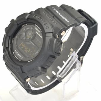Digitec Men's DG2028FBL - Jam Tangan Pria Sport Watch - Strap Resin - Black .