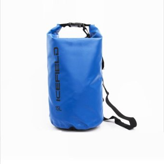 Harga AIUEO Icefield Water Proof Dry Bags Packing Organizers -15L - Biru