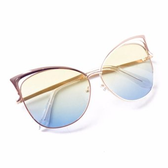 Harga Paroparoshop Carol Sunglasses - Yellowish Blue
