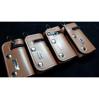 Boss Dompet Gantungan Kunci Mobil Fashion lipat 3 - 4 .