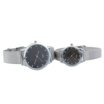 Jam Tangan Kulit Coklat Source · Halus kuarsa pasangan Analog Watch dengan dekorasi .