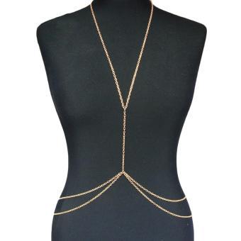 ... Bikini Body Keberuntungan Cinta Abadi Kalung Rantai Source Perut Pinggang Fashion Rantai