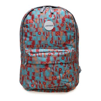 Harga Airwalk Malcolm Printed Backpack - Abu-abu