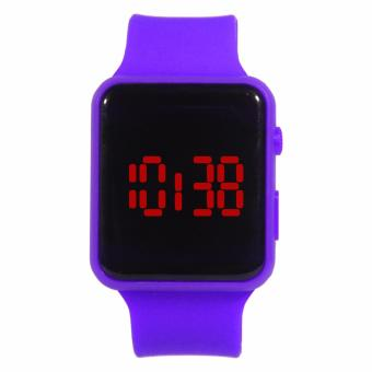 Harga Generic - Jam tangan LED persegi digital - purple