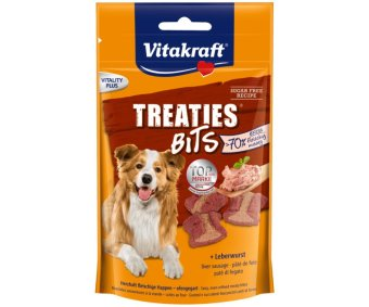 Harga Vitakraft - Treaties Bits Liverwurst 120 gr