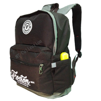 Harga Froston Tas Ransel Backpak Laptop 15,6 Inch Trendy - Coffe