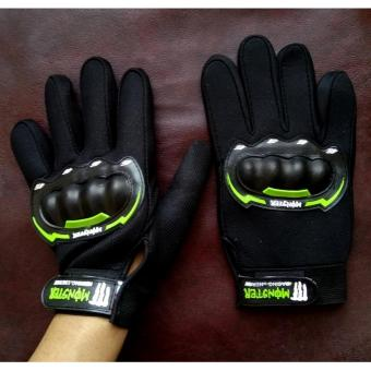 Harga dm Sarung Tangan Batok Monster Energy Full Finger (Hitam)