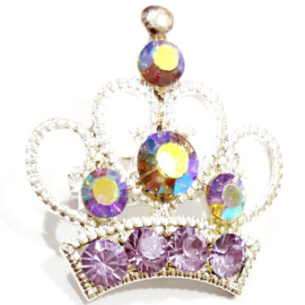 Harga Bros Mini Crown - Purple