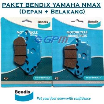 Paket Kampas Rem Yamaha NMAX Depan Belakang BENDIX Ceramic, 160.000, Update. Sinnob Paket