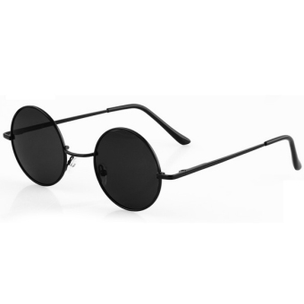Retro Sunglasses Eyewear Casual Tortoise Frame Lens Round Glasses ...