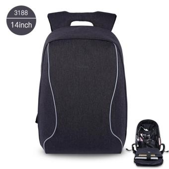 Harga Tigernu Anti-Theft Casual 14 Inches Laptop Backpack for 10-14 Inches Laptop(Black Grey)