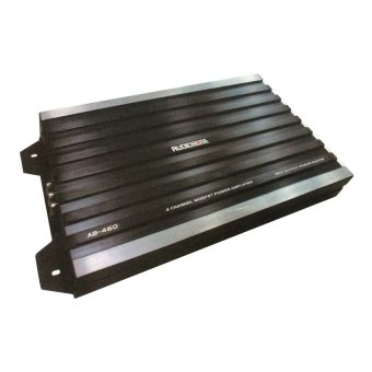 Harga Audiobose AB460.4 Channel Power Amplifaier - Hitam
