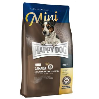 Harga Happy Dog Supreme Mini - Mini Adult Canada Grainfree (Salmon, Rabbit, Lamb & Potato) 1 Kg