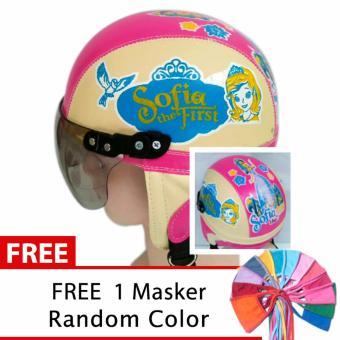 ... Free Maker Mulut. Source · Helm Anak Unyu-Unyu Usia 1- 5 Tahun Motif Sofia - Cream/Pink