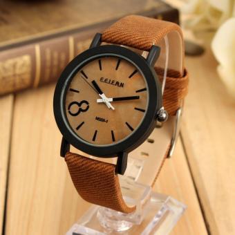 Vintage pria kuarsa sambungan kayu ancak Hitam jam tangan kulit Source · Galeri Produk vintage pria