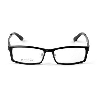Stallane Fashion Optik Kacamata Bingkai Kacamata Frame Aluminium Miopia Bisnis Kacamata Frame Kacamata Yang Kokoh Untuk Pria ?Hitam ?