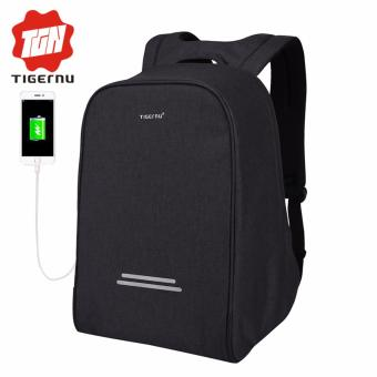 Harga Tigernu Milti-purpose Waterproof Laptop Backpack fit for 12-15.6inches laptop(black grey) - intl