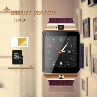 Bluetooth GSM Smart Watch DZ09 Smartwatch for Ios Android Phones Wrist Watch Iphone Samsung LG Xiaomi PK U Watch U8 U10L U80 M26 - intl ...
