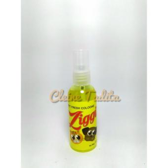 Harga ziggi pet cologne lemon