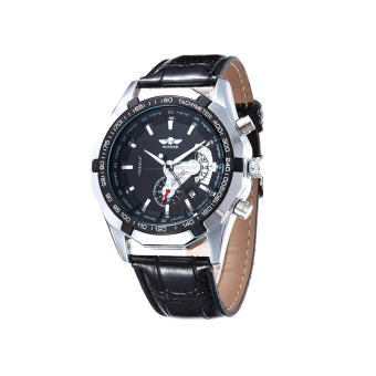 Harga Fashion fully automatic mechanical watches black?