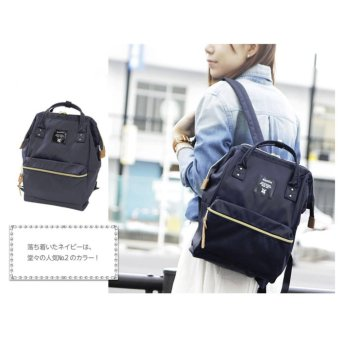 Harga Anello Tas Ransel Backpack Polyester Minisize AT-B0197B Small - Navy