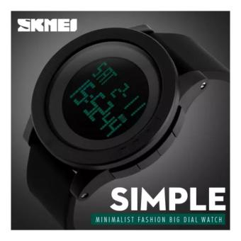 Skmei Led Digital Alarm Chronograph Men Sport Watch Jam Tangan Pria Original 1142 Water Resistant 50m