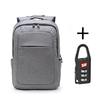 Harga Tigernu Brand T-B3090 Multifunction Colorful FashionTravel Daily Men Women 15inch laptop Backpack (light grey) - Intl