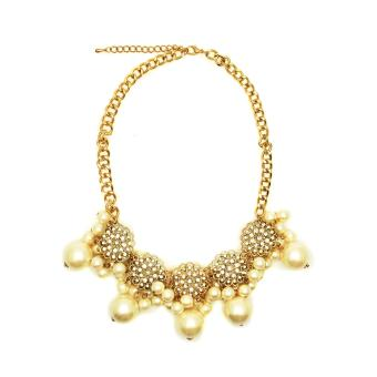 Istana Accesories Cambriela Fashion Necklace-White ...