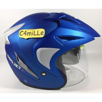 Helm Mds Projet 2 Solid Fire Red Double Visor Half Face Daftar Source · 2 HELM
