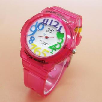 Q&q Watch Qq0011 Jam Tangan Sport Wanita Rubber Strap Referensi Source · Q&Q Watch Jam Tangan