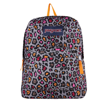 Harga JanSport Superbreak - Grey Rabbit Lucy Leopard